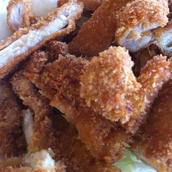 Chicken Katsu @ Ohana Hawaiian BBQ