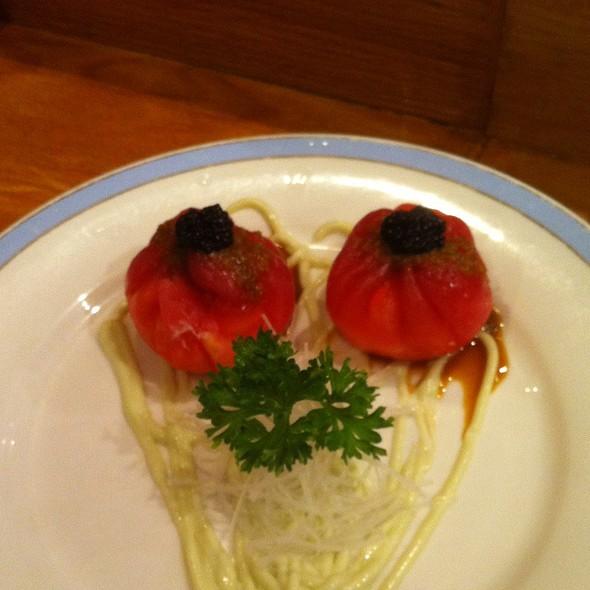 Tuna Bun Stuffed With Blue Crab @ Sushi Yama Japanese Restaurant