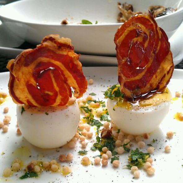 Deviled Eggs @ Origin Restaurant