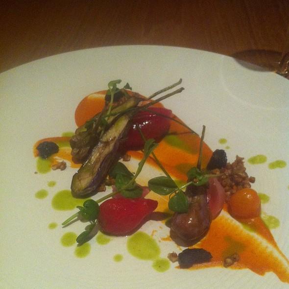 Eggplant W/ Tomato Roumalade @ Atelier Crenn