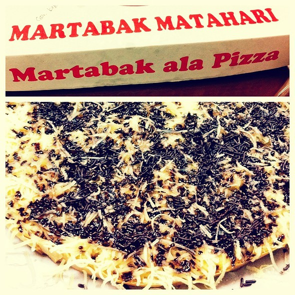 Martabak Ala Pizza @ Martabak Matahari