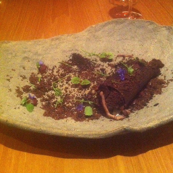 Chocolate, Cherry, Almond @ Atelier Crenn