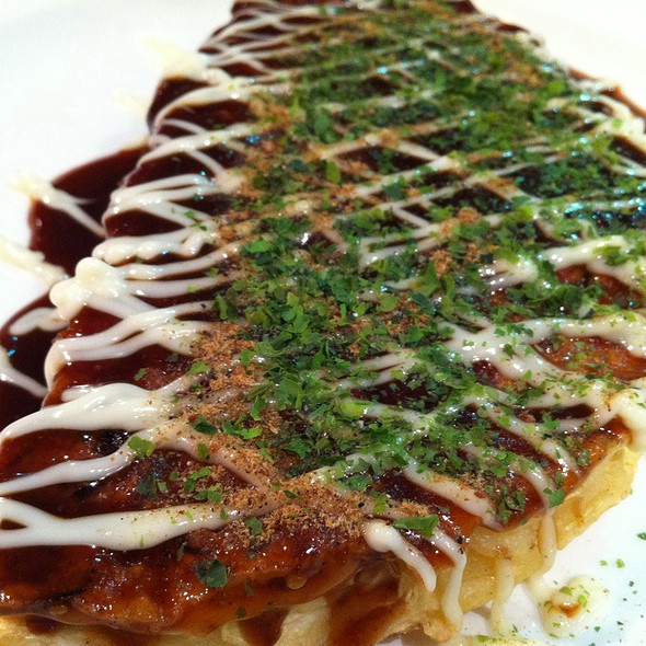 Okonomiyaki @ Jyu Jyu  Japanese Take Away