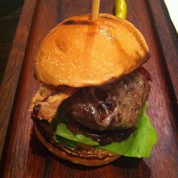 Mini Iberico And Foie Gras Burger