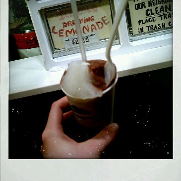 Chocolate Lemonade Ice  @ Mario's Italian Lemonade