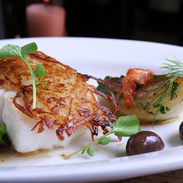 Potato Crusted Chatham Cod @ Anella