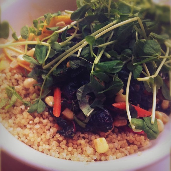 Quinoa Bowl @ The Plant Cafe Organic