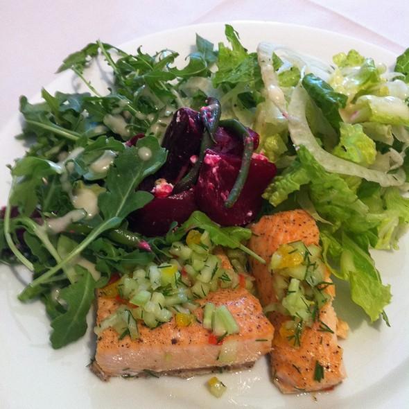 Salmon salad @ The Corner