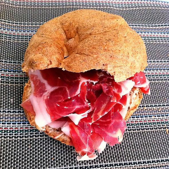 Serrano Ham Sandwich @ taberna vaquero´s