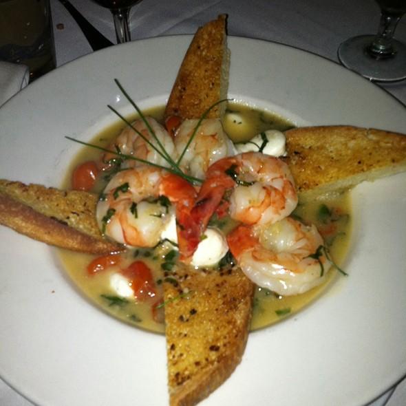 Shrimp Caprese - Schafer's, Port Jefferson, NY