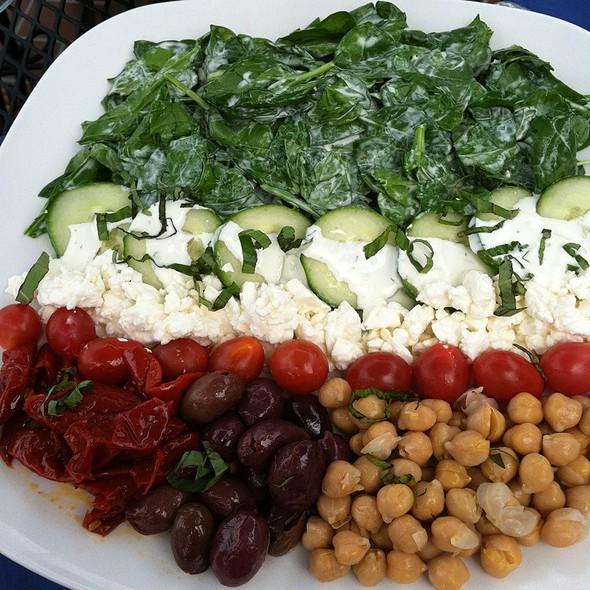 Greek Salad - Schafer's, Port Jefferson, NY