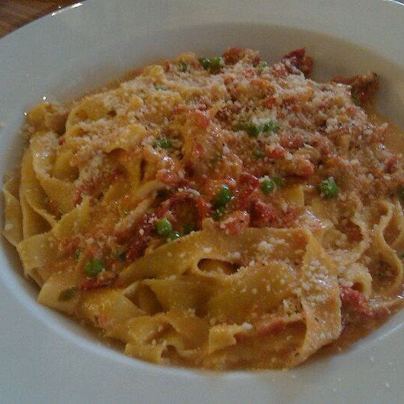 Tagliatelli With Crab Meat And Cream Sauce  @ Mirko Pasta