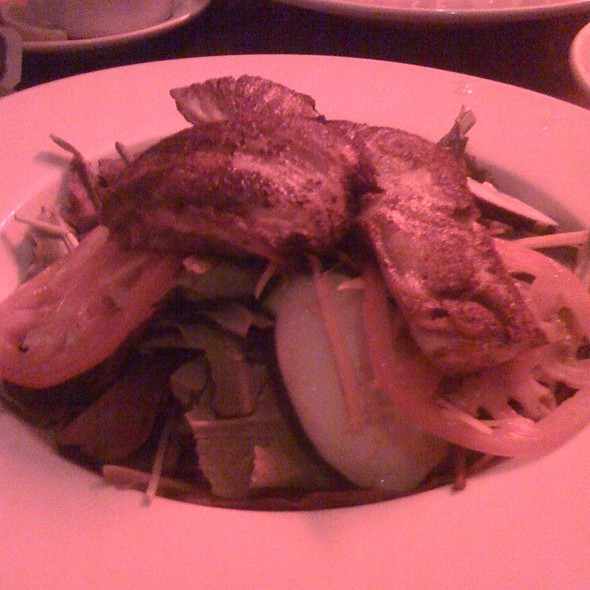 Blackend Fish Salad @ night of the cookers