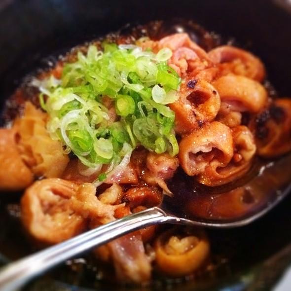 Round Cut Intestine @ Dan Izakaya Restaurant
