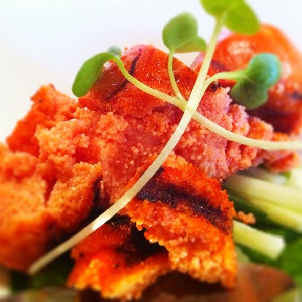 Grilled Cod Roe @ Dan Izakaya Restaurant