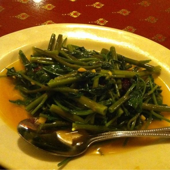 Lemon Water Cress (Pak Boong) @ Jitlada