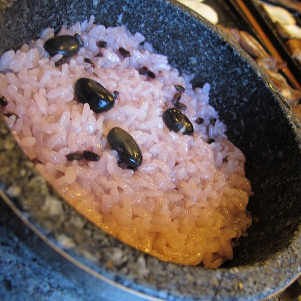 Red Bean Rice @ Food Court - Lotte Hotel Seoul