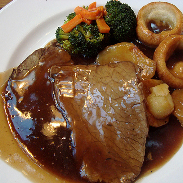 Roast Beef and Yorkshire Pudding @ The Eagle and Child