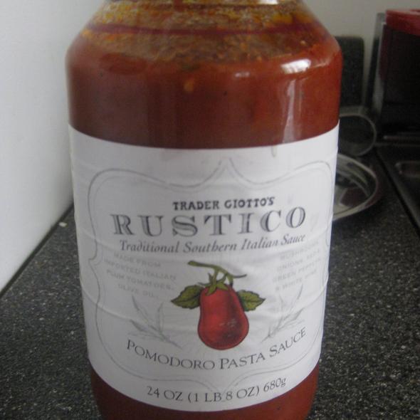 Rustico Pomodoro Sauce @ Trader Joe's