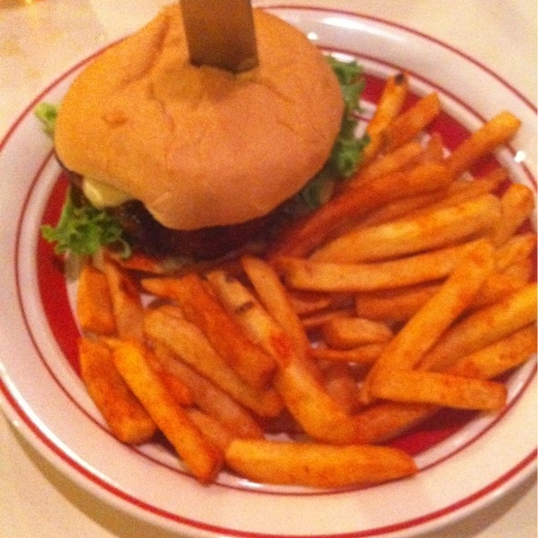 Spicy Mary Burger @ Hamburger Mary's
