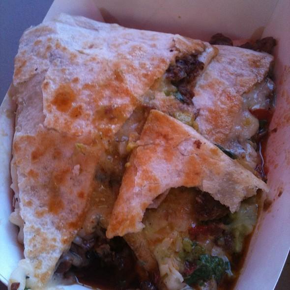 Quesadilla @ Chando's Taco
