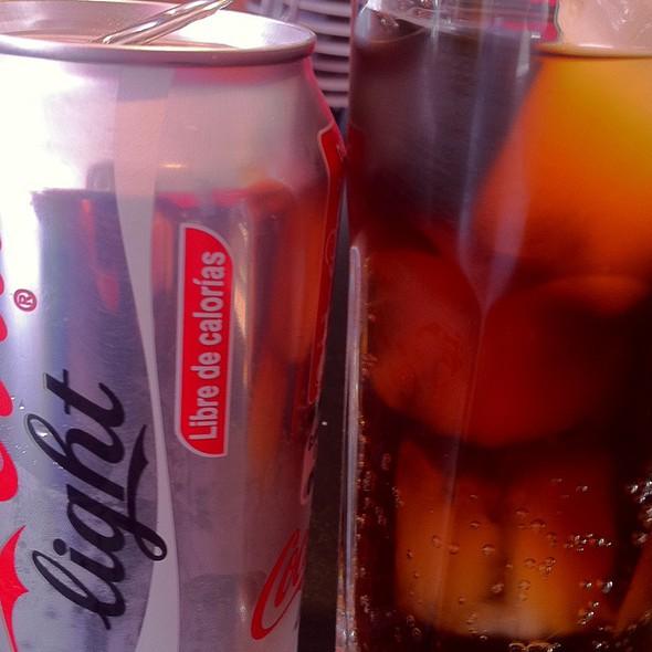 Coca Cola Light At Mr. Jacku0027s Patio Bellavista