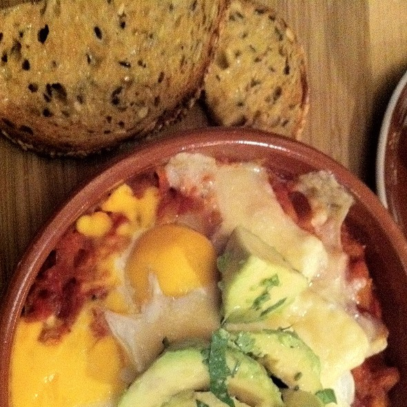 Baked Eggs @ Mister Close