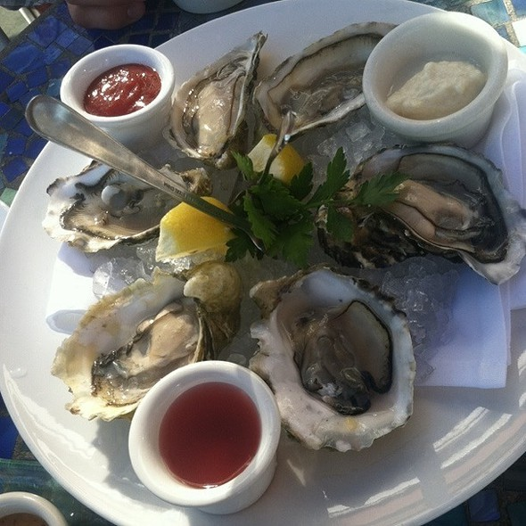 Oysters @ scott's restaurants jack london square