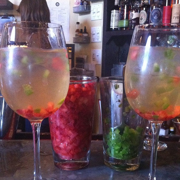 Strawberry Jalapeno Sangria