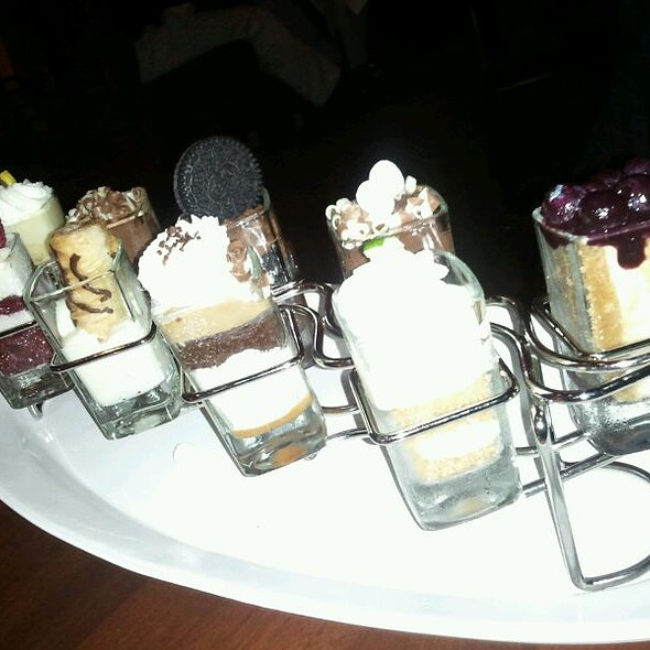 Mini Desserts @ Seasons 52