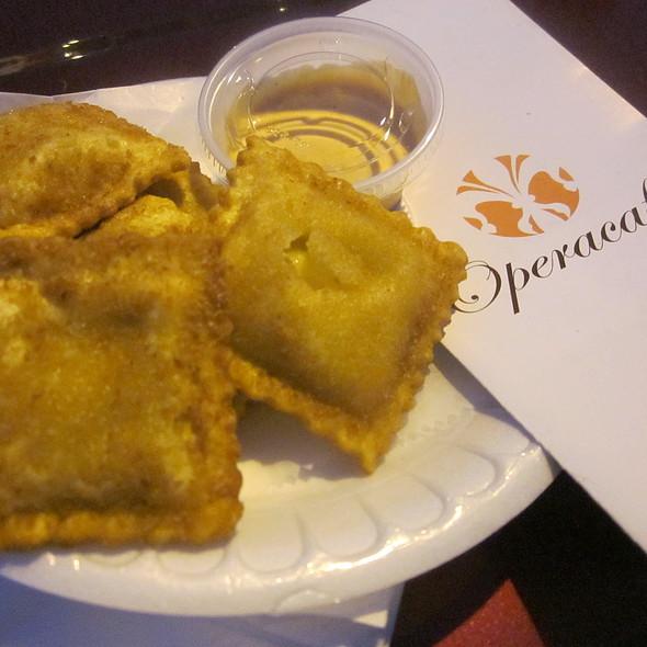 Fried Ravioli @ Operacaffe Mobile - Tuscan Cuisine