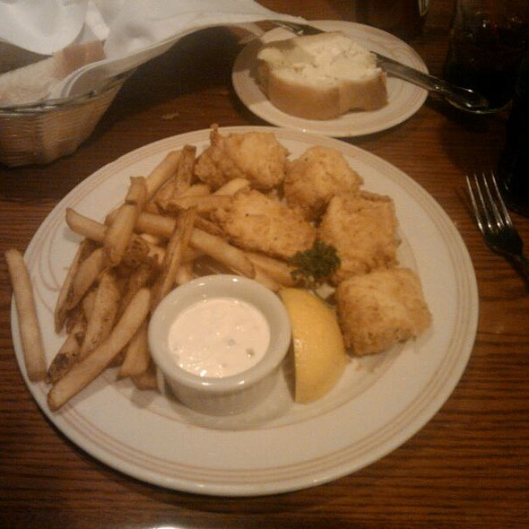 Halibut Fish And Chips At Sayler S Old Country Kitchen