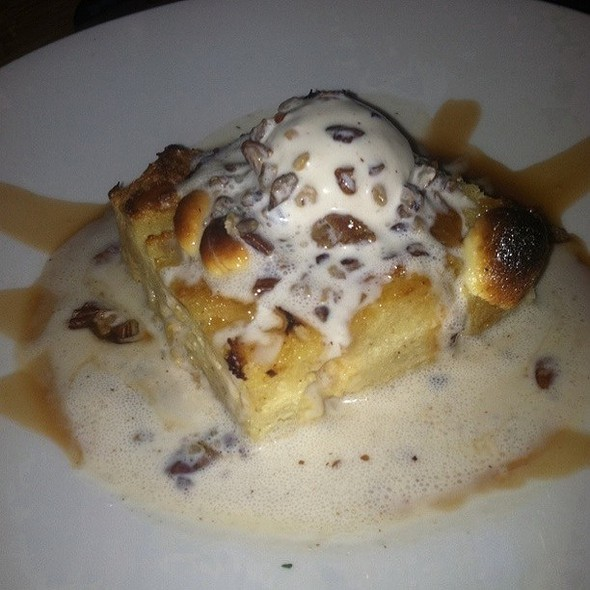 Bourbon Bread Pudding @ Miss Pearl's Jam House