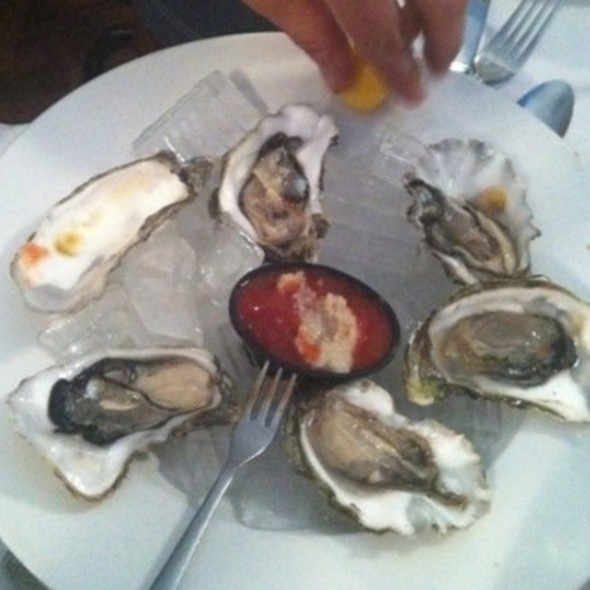 Oysters - Rosy's at the Beach, Morgan Hill, CA
