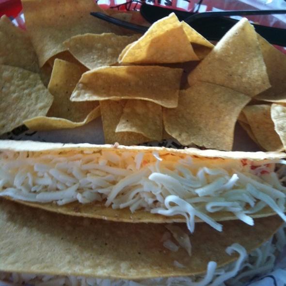 Beef Tacos @ Tijuana Flats Burrito Company