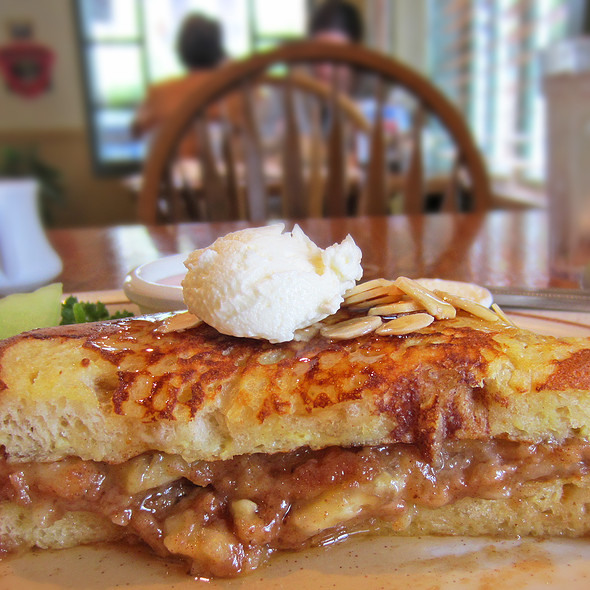 French Toast Sandwich @ Hobee's Restaurant