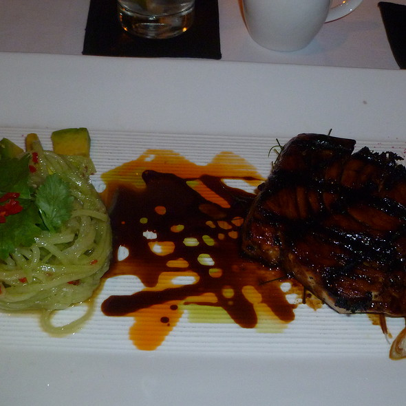 Grilled Glazed Soy Cardamom Honey Tuna @ Chandi