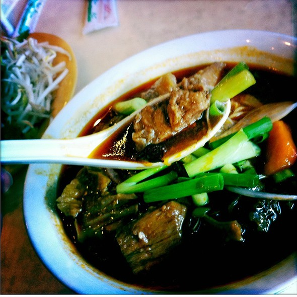 Beef Stew Egg Noodle Soup @ Que Huong