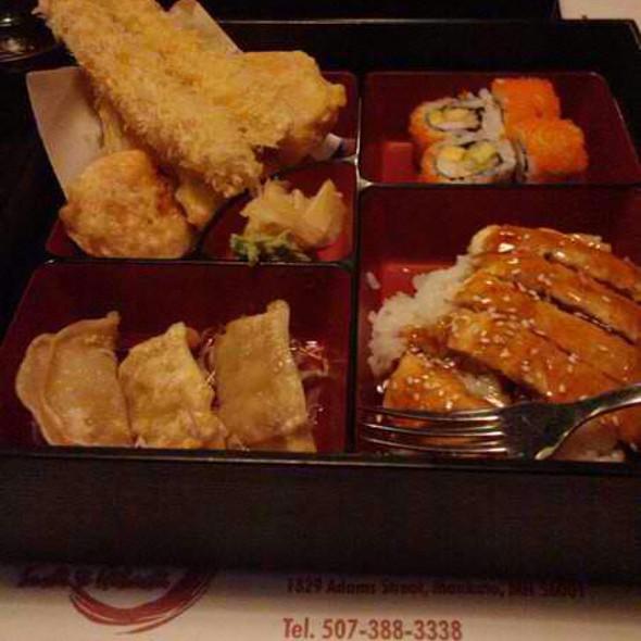 Sushi, Dumplings And Tempura
