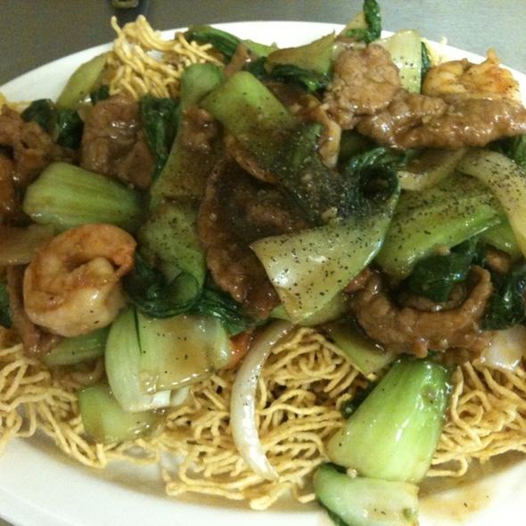 Beef&shrimp Crispy Noodles