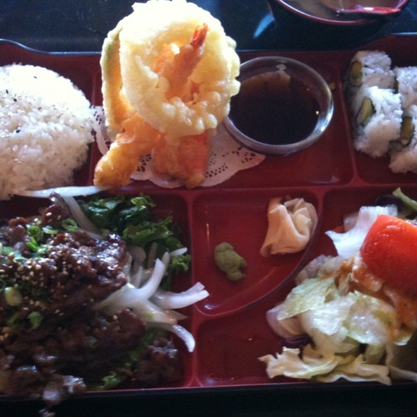 Bulgogi Lunch Special @ Sushiya