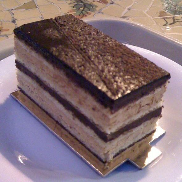Opera Cake @ Cocola Bakery
