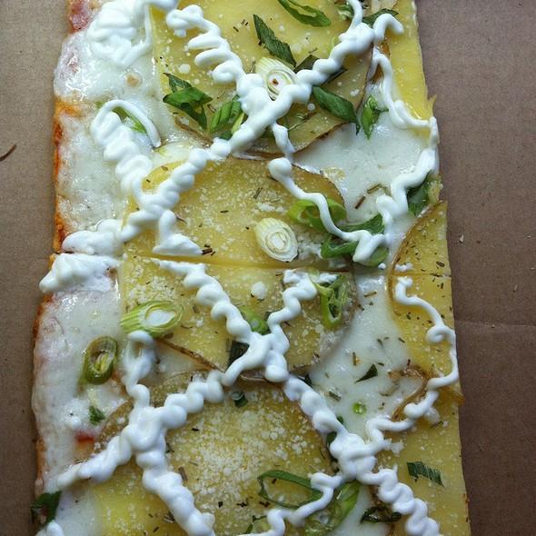 Potato Pizza @ Jules Thin Crust LLC