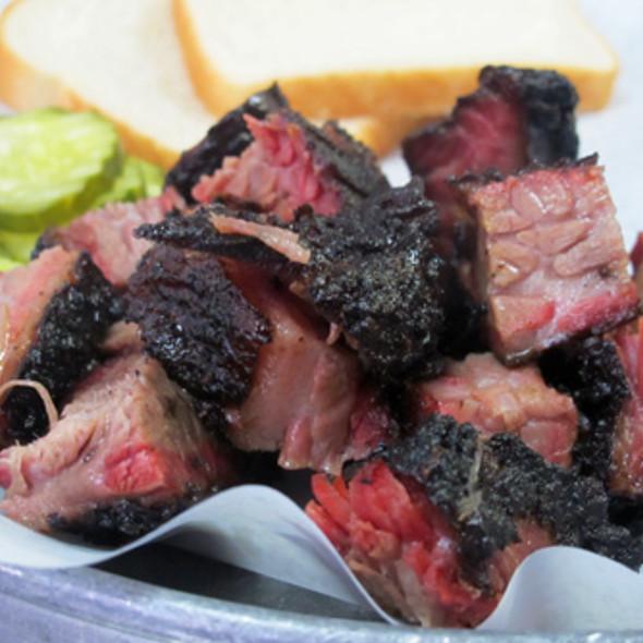 BBQ Burnt Ends @ Rub BBQ Restaurant