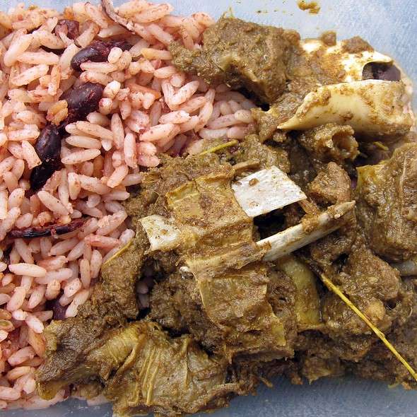 Curry Goat @ Notting Hill Carnival