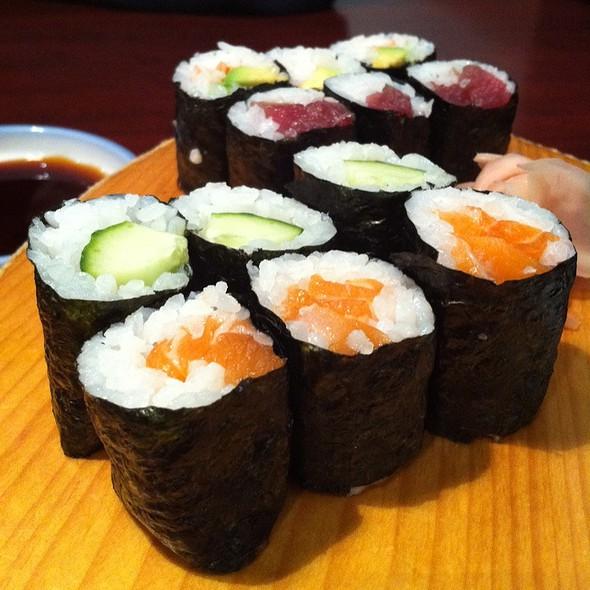 Assorted Maki Rolls @ Yoshi Sushi