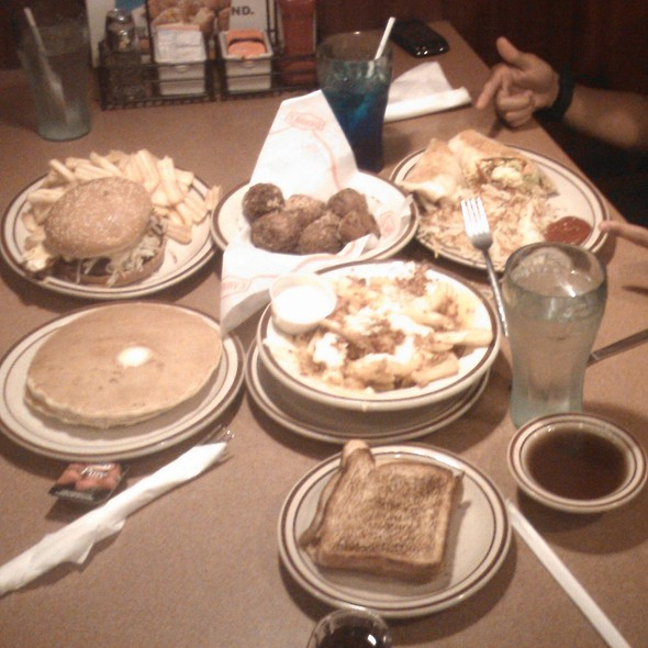 Multiple items @ Denny's Restaurant