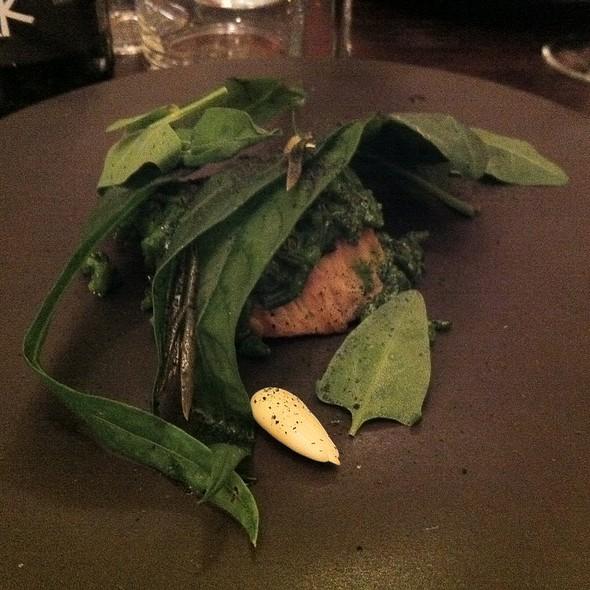 Veau, salicorne, liseron @ Le Chateaubriand