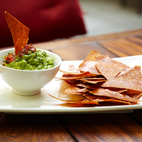 Chips & Guac @ Pure Food & Wine