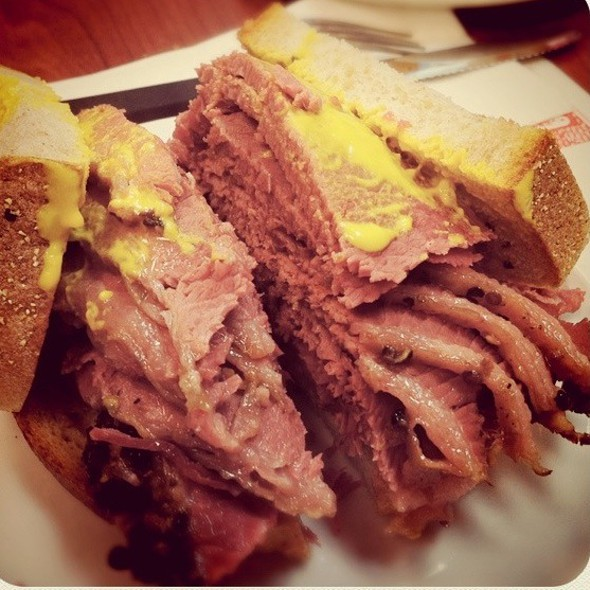 Smoked Meat Sandwich @ Schwartz's